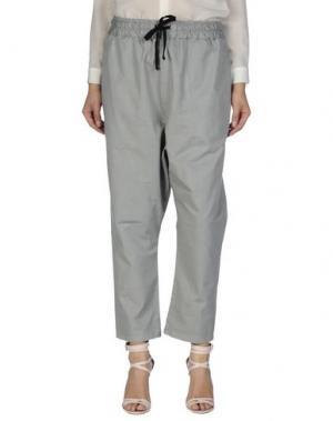 Повседневные брюки 10 MILANO. Цвет: светло-серый