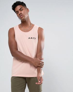 Antioch Майка A.N.T.I. Цвет: розовый