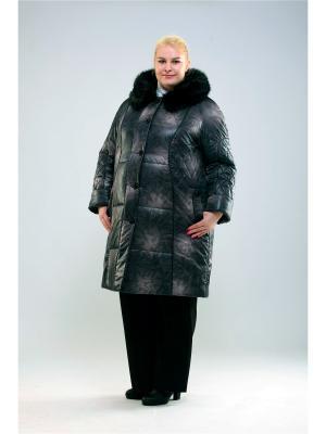 Пальто 55604 Trevery. Цвет: сиреневый