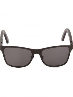 Солнечные очки Canby Shwood. Цвет: чёрный