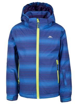 Куртка Trespass. Цвет: синий