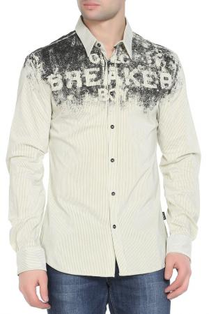 Рубашка CNC COSTUME NATIONAL C'N'C'. Цвет: белый