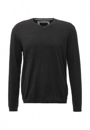 Пуловер Quiksilver. Цвет: серый