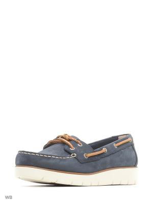 Топсайдеры Sperry Top-Sider. Цвет: синий