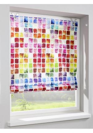 Римская штора Heine Home. Цвет: цветной