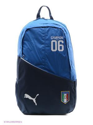 Рюкзак Italia Fanwear Backpack Puma. Цвет: синий