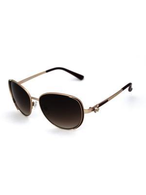 Cолнцезащитные очки Exenza. Цвет: коричневый, бордовый