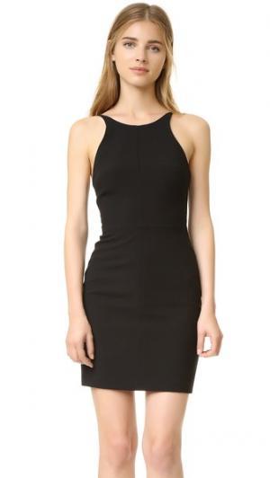 Мини-платье Bermuda Black Halo. Цвет: голубой