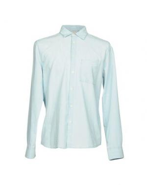 Джинсовая рубашка NUDIE JEANS CO. Цвет: синий