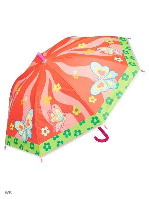 Зонт Modis. Цвет: розовый, салатовый