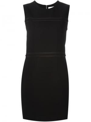 Платье без рукавов Victoria Beckham. Цвет: чёрный