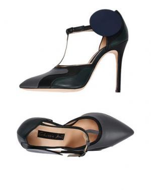 Туфли CHRISSIE MORRIS. Цвет: серый