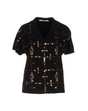 Блузка XANDRES. Цвет: черный