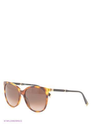 Солнцезащитные очки MAXMARA. Цвет: коричневый, рыжий