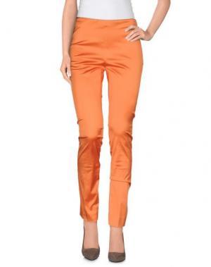 Повседневные брюки VIA MASINI 80. Цвет: оранжевый