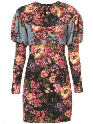 Платье Lavinia Emilia Wickstead. Цвет: многоцветный