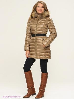 Пальто Conver Vintage. Цвет: бронзовый