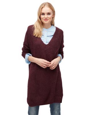Пуловер TOM TAILOR. Цвет: фиолетовый