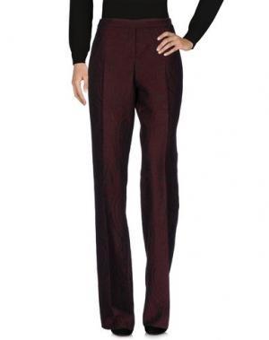 Повседневные брюки I BLUES. Цвет: красно-коричневый