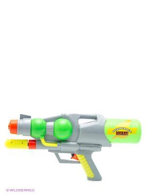 Водный пистолет с помпой Тилибом. Цвет: прозрачный