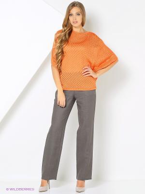 Джемпер Milana Style. Цвет: оранжевый