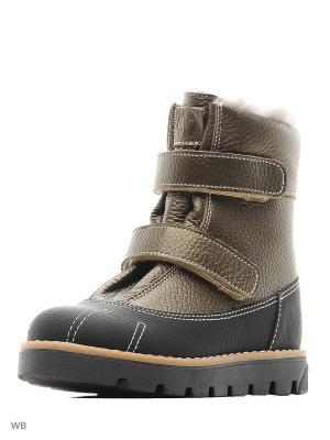 Ботинки TAPiBOO. Цвет: зеленый