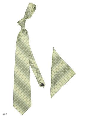 Галстук GLAMOUR.. Цвет: зеленый