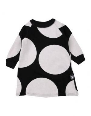 Платье NUNUNU. Цвет: черный