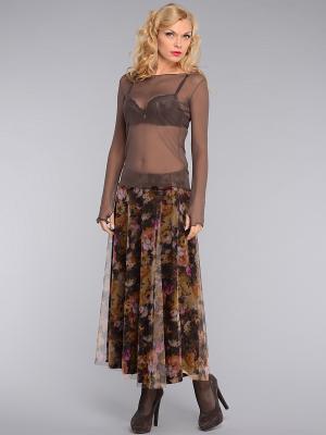 Блузка KATA BINSKA. Цвет: бронзовый