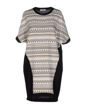 Короткое платье AXARA PARIS. Цвет: слоновая кость