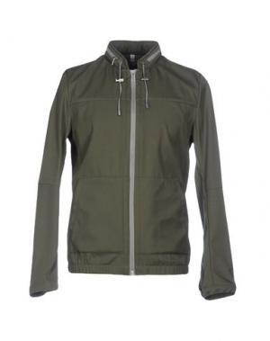 Куртка BOSIDENG. Цвет: зеленый-милитари