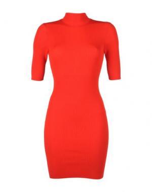Короткое платье MORGAN DE TOI. Цвет: красный