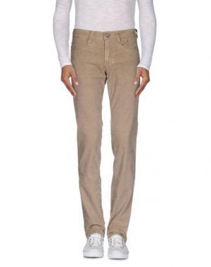 Повседневные брюки 9.2 BY CARLO CHIONNA. Цвет: песочный