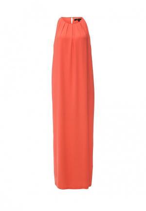 Платье BCBGMAXAZRIA. Цвет: коралловый
