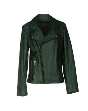 Куртка - -ONE > ∞. Цвет: темно-зеленый