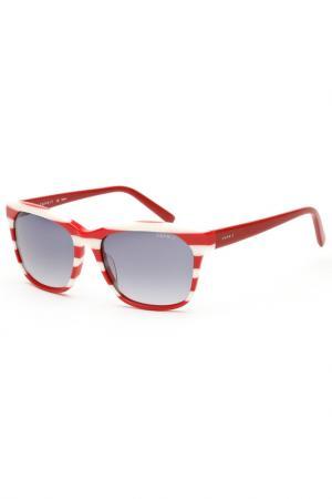 Очки солнцезащитные Esprit. Цвет: красный, белый