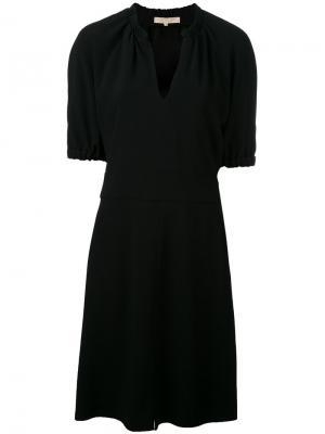 Платье с V-образным вырезом Vanessa Bruno. Цвет: чёрный