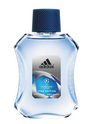 Лосьон после бритья Uefa Star Edition , 100 мл Adidas. Цвет: прозрачный
