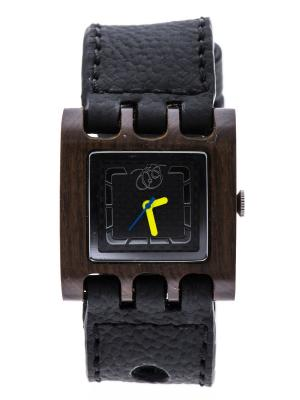 Часы Mistura QUADRATO Grey/Carbon Fiber. Цвет: серый