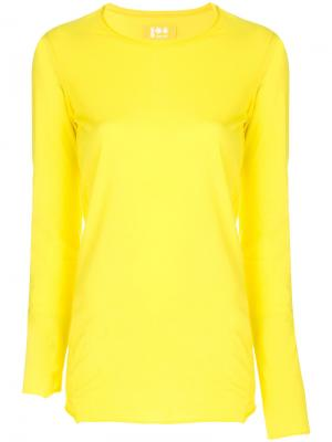Long sleeved T-shirt Labo Art. Цвет: жёлтый и оранжевый