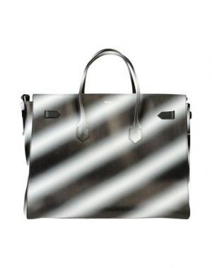Дорожная сумка OFF-WHITE™. Цвет: стальной серый