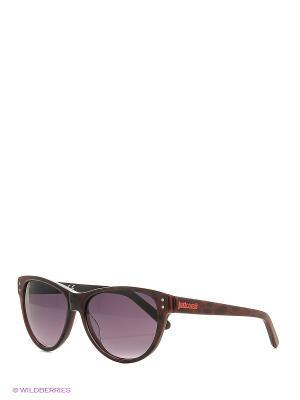 Солнцезащитные очки JC 497S 05В Just Cavalli. Цвет: красный