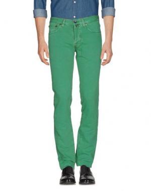 Повседневные брюки PT05. Цвет: зеленый