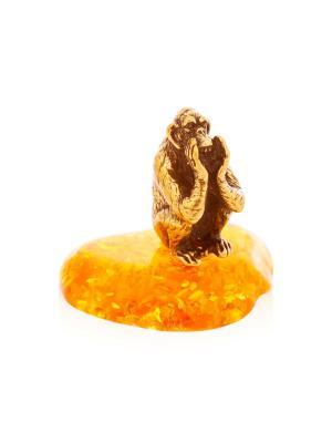 Фигура Обезьяна Все расскажу Aztek. Цвет: желтый, коричневый, светло-оранжевый