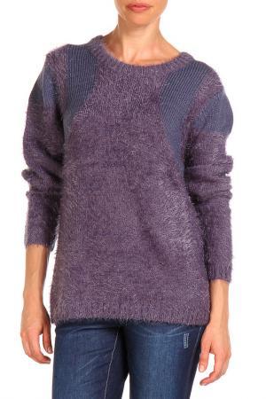 Джемпер E|SENZ. Цвет: фиолетовый
