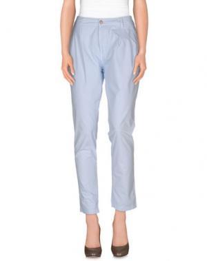 Повседневные брюки DORALICE. Цвет: небесно-голубой