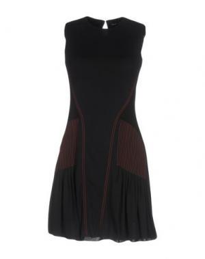 Короткое платье ATLEIN. Цвет: черный