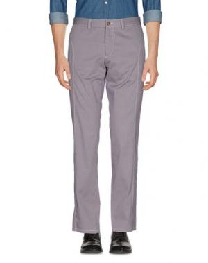 Повседневные брюки PIATTO. Цвет: розовато-лиловый