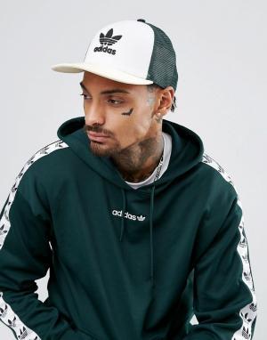 Adidas Originals Зеленая кепка adicolor CE5708. Цвет: желтый