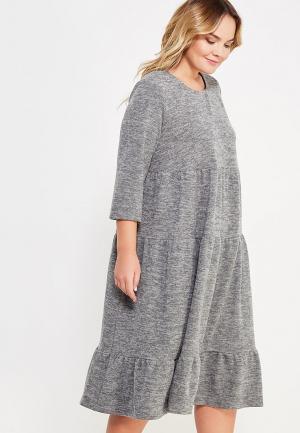 Платье Aelite. Цвет: серый